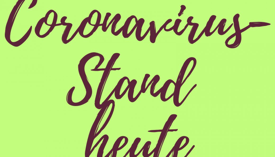 Corona-StandHeute